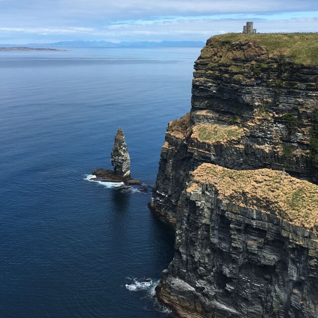 スコットランドの入り江