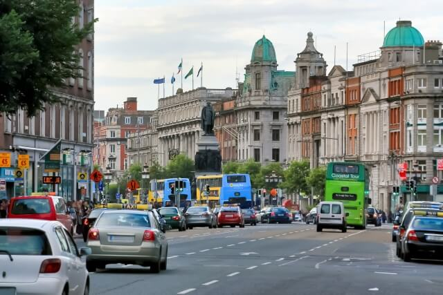 アイルランドの街並み