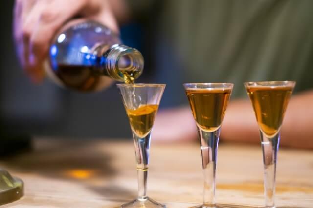 3種類のラム酒