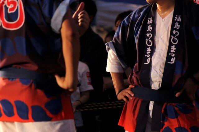 福島の人々の様子