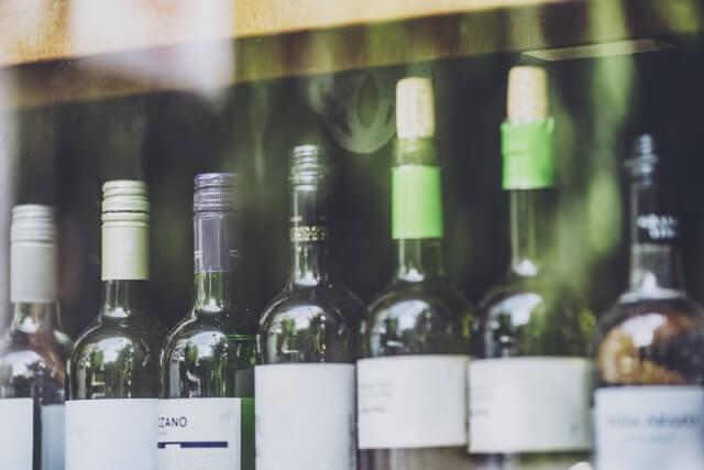 スーパーのワイン